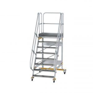 Mozgatható lépcsős dobogó 60°