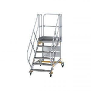 Mozgatható lépcsős dobogó 45°